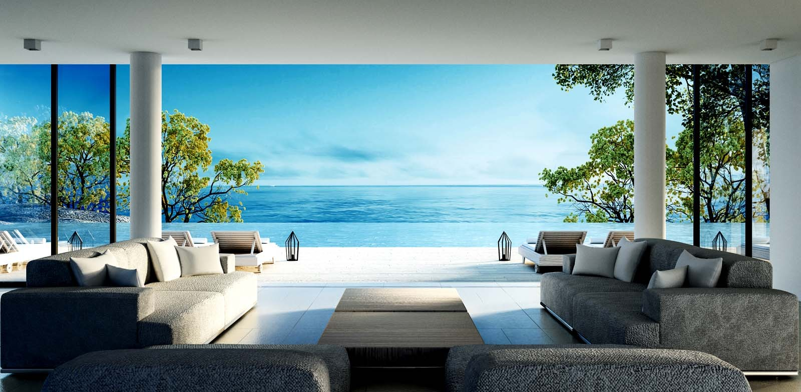 Living Room by the Sea